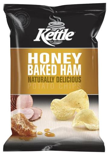 HONEY BAKED HAM NATURAL POTATO CHIPS 45GM