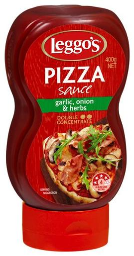 SQUEEZE PIZZA SAUCE 400GM