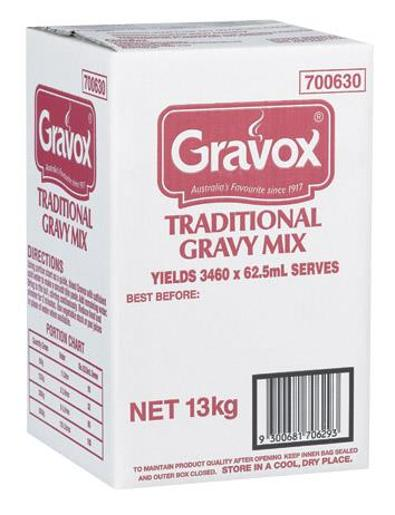 GRAVY TRADITIONAL 13KG