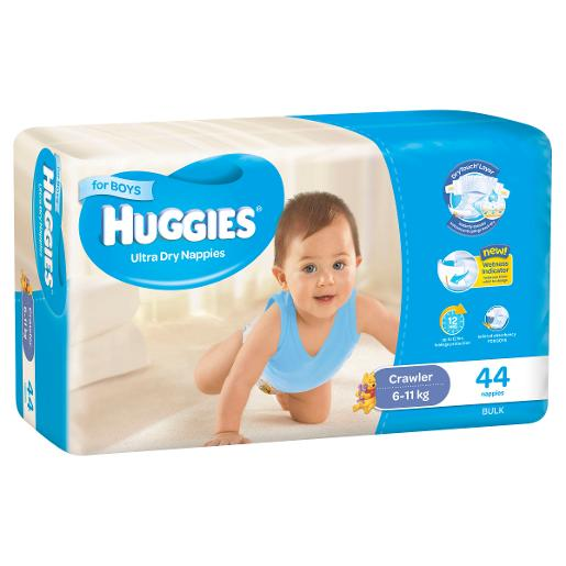 BOY CRAWLER NAPPIES 44S