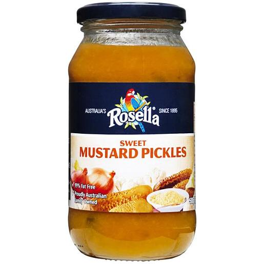 SWEET MUSTARD PICKLES 500GM
