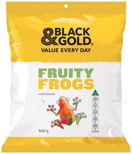 FRUITY FROGS 500GM