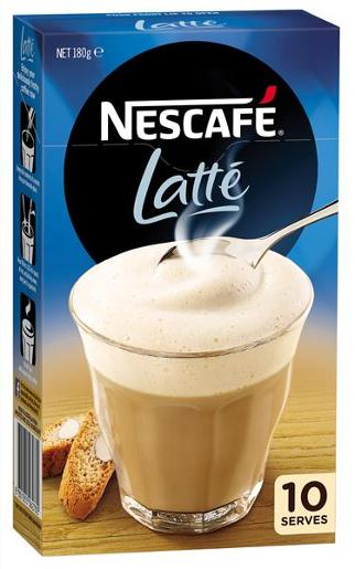 LATTE COFFEE MIXES 10PK
