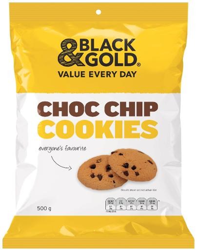 COOKIES CHOCOLATE CHIP 500G