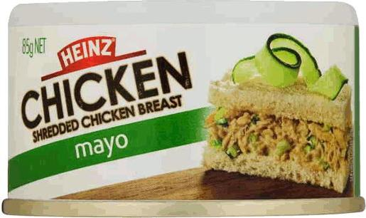 SHREDDED CHICKEN IN MAYONNAISE 85GM