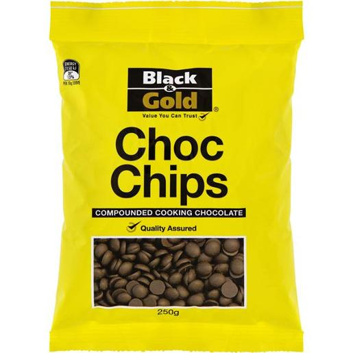 CHOCOLATE CHIPS COMPOUNDED COOKING CHOCOLATE 250G