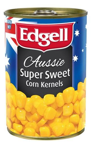 SUPER SWEET CORN KERNELS 420GM