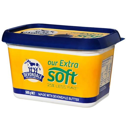 EXTRA SOFT BUTTER 500GM