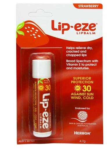 STRAWBERRY LIP BALM SPF 30+ 4.7GM