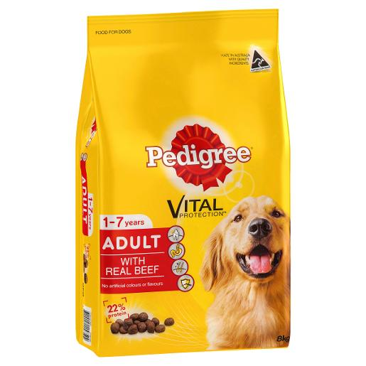 MEATY BITES BEEF DOG FOOD 8KG