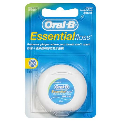WAXED MINT ESSENTIAL FLOSS 50M