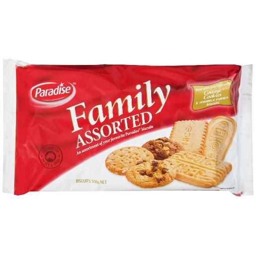 FAMILY ASSORTED BISCUITS 500GM