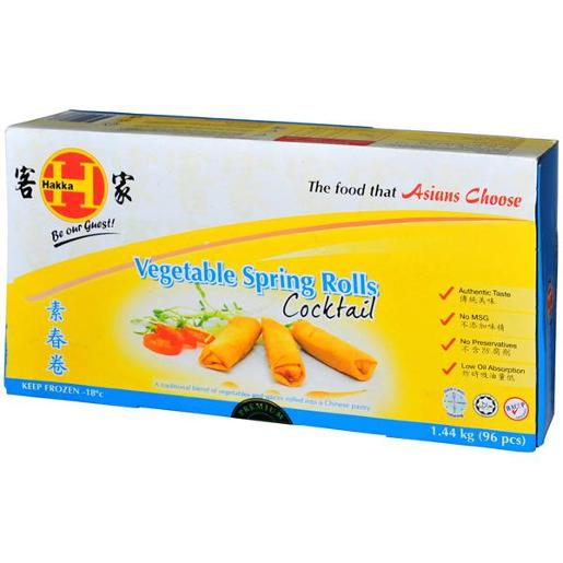 SPRING ROLLS COCKTAIL 1.44KG
