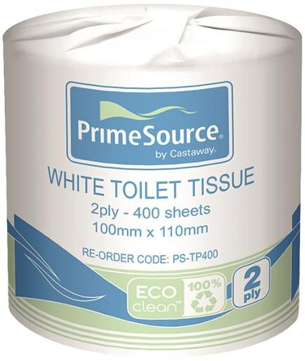 2PLY TOILET TISSUE 400SH