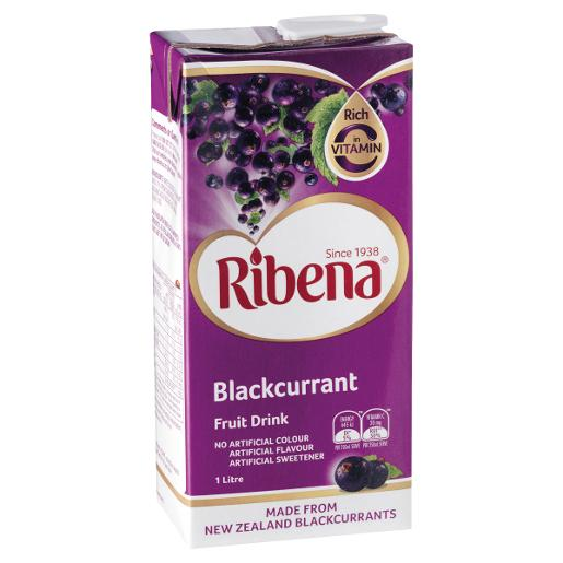 BLACKCURRENT READY TO DRINK 1L