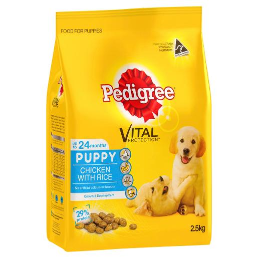 MEATY BITES PUPPY FOOD 2.5KG