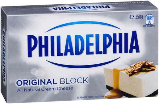 CREAM CHEESE BLOCK 250GM