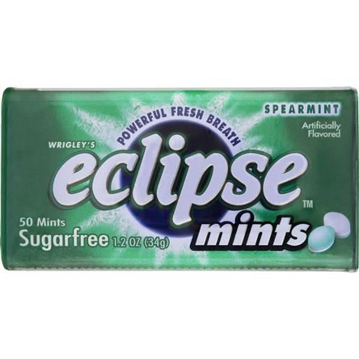 ECLIPSE SPEARMINT MINTS SUGAR FREE 5 PIECE 34GM