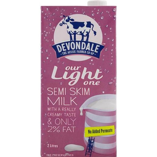 MILK LONGLIFE SKIM SEMI 2L