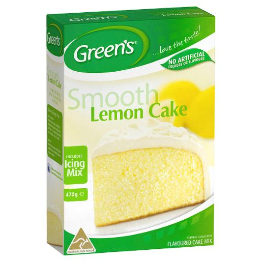 TRADITIONAL LEMON CAKE MIX 470GM