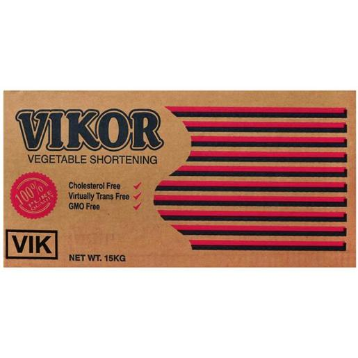 VIKOR VEGETABLE SHORTENING 15KG