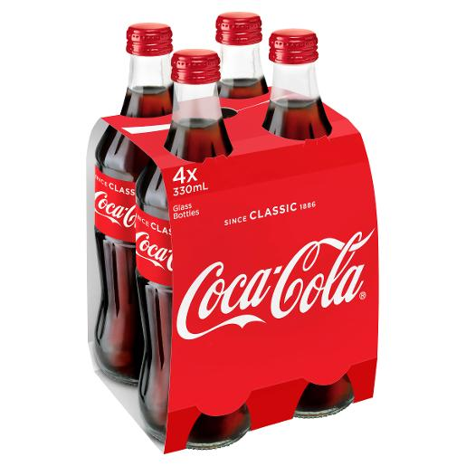 SOFT DRINK 4 PACK 330ML
