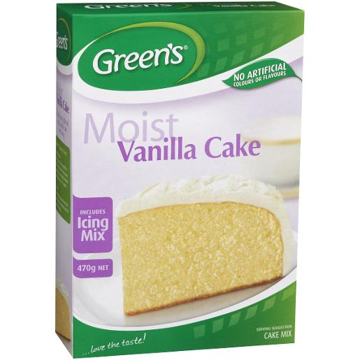 TRADITIONAL VANILLA CAKE MIX 470GM