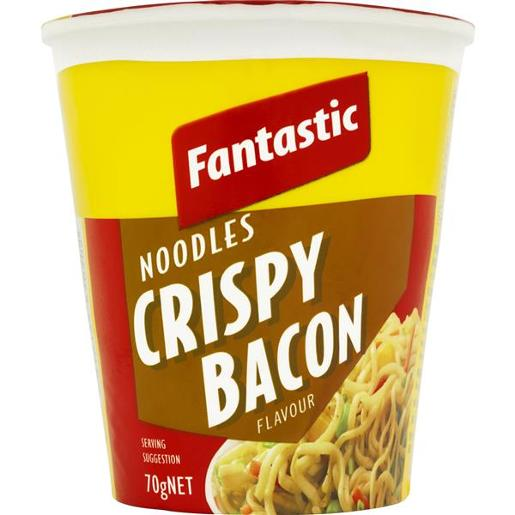 NOODLES CUP CRISPY BACON 70GM