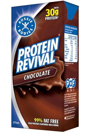 CHOCOLATE PROTEIN REVIVAL DRINK 375ML