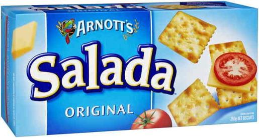 CRACKERS SALADA ORIGINAL 250GM