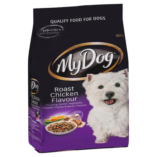 ROASTED CHICKEN DOG FOOD 500GM