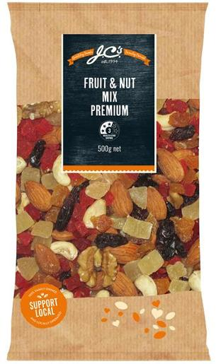 FRUIT AND NUT MIX 500GM