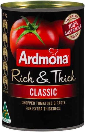 RICH AND THICK DICED TOMATOES 410GM