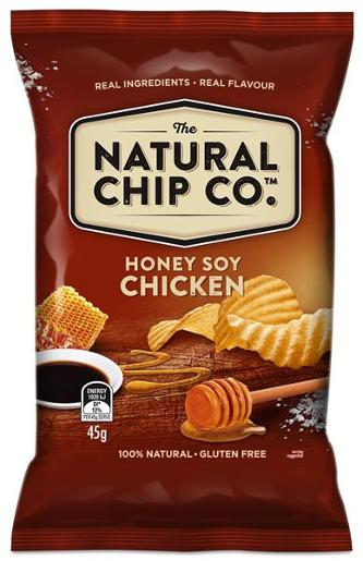 HONEY SOY CHICKEN POTATO CHIPS 45GM