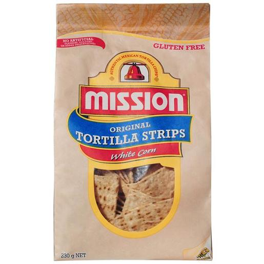 WHITE CORN TORTILLA CORN CHIPS 230GM