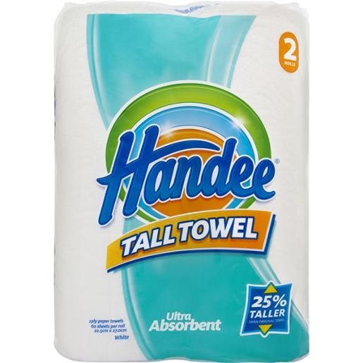 ULTRA PAPER TOWELS TALL 2PLY WHITE 2S