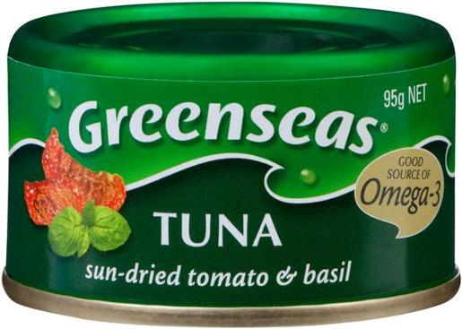 TUNA SUN DRIED TOMATO AND BASIL 95GM