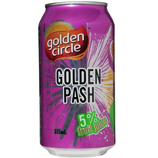 SOFT DRINK GOLDEN PASH 375ML