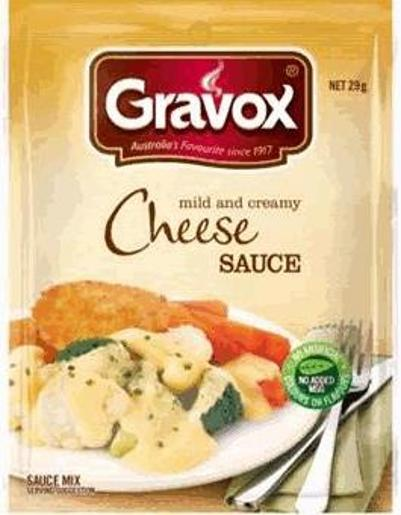 GRAVY MIX SACHEL CHEESE 29G