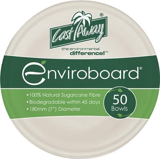 BOWL ENVIROBOARD 7 INCH LARGE 50S