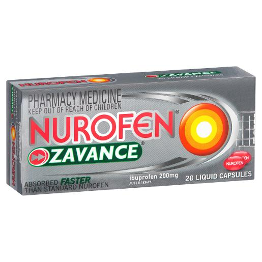 ZAVANCE LIQUID CAPSULES 20S
