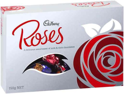 SILVER ROSES BOX 150GM