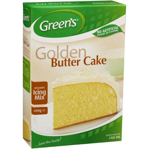 TRADITIONAL GOLDEN BUTTER CAKE MIX 440GM