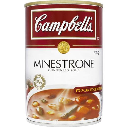 CONDENSED SOUP MINESTRONE 420GM