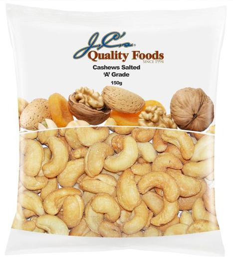 SALTED CASHEWS 150GM
