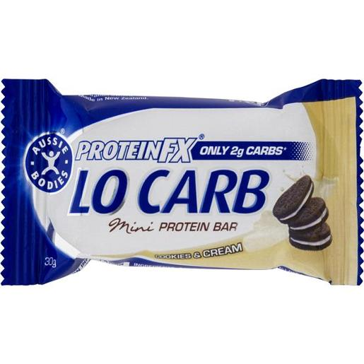 COOKIES & CREAM PROTEIN FX LOW CARB HEALTH BAR 30GM