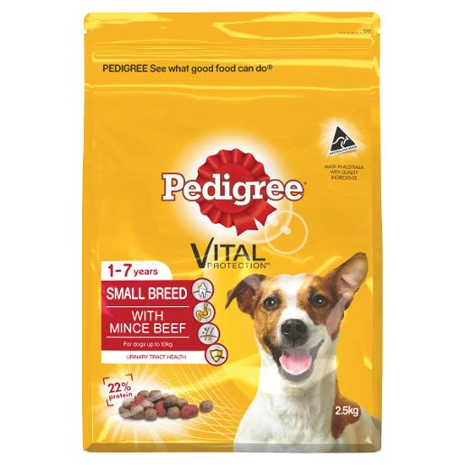 MEATY BITES MINI MINCE BEEF DOG FOOD 2.5KG
