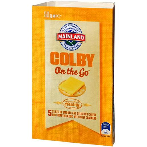 COLBY CHEESE ON THE GO 50GM