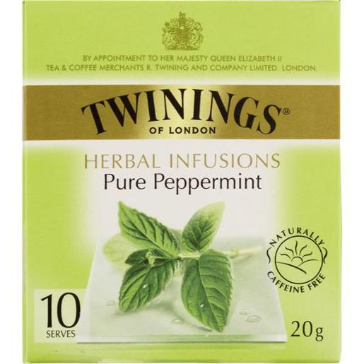 PEPPERMINT INFUSIONS TEABAGS 10S