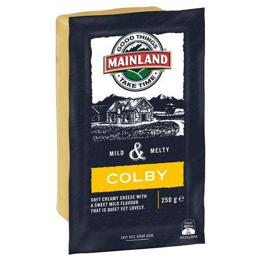 COLBY CHEESE BLOCK 250GM